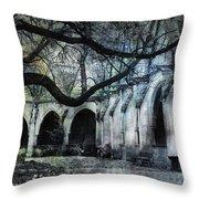 Saint Severin Parish Paris France Throw Pillow