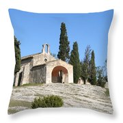 Saint Sixte An Old Chapel Throw Pillow