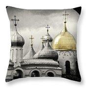 Saint Sophia Throw Pillow