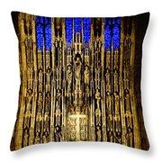 Saint Thomas Church  Throw Pillow