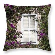 Saint Tropez Window Throw Pillow