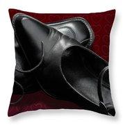 Saint Valentine Shoes Throw Pillow