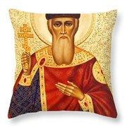 Saint Vladimir Throw Pillow
