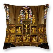 Sainte Croix - Kaysersberg France Throw Pillow