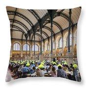 Sainte Genevieve Library Throw Pillow