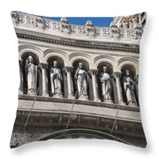 Saints Cathedral De La Major Throw Pillow