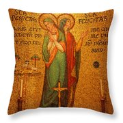 Saints Perpetua And Felicitas Altar Throw Pillow