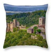 Saissac France Color Img 7740 Throw Pillow