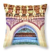 Salam Mosque Throw Pillow