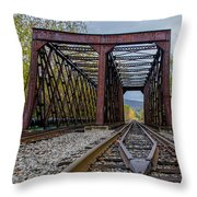 Salamanca Bridge  7d07889 Throw Pillow