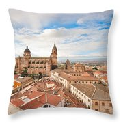 Salamanca Throw Pillow by JR Photography