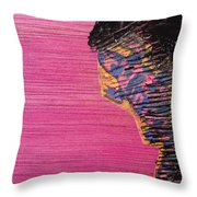 Collage Nr. 10 Salamander Throw Pillow by Jo Ann