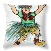 Sales Fairy Dancer 2 Throw Pillow