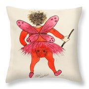 Sales Fairy Dancer 1 Throw Pillow