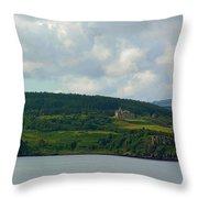 Saling Northern Scotland 3 Throw Pillow