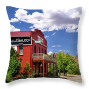 Saloon - Dayton - Nevada Throw Pillow