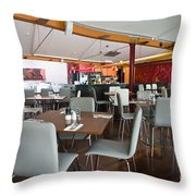 Sals On The Square Hobart Throw Pillow