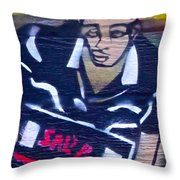 Sal's Pizza  Throw Pillow
