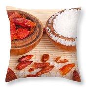Salt And Piri Piri Throw Pillow