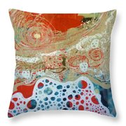 Salt And Sea Throw Pillow