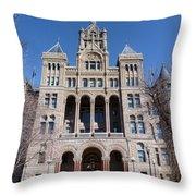 Salt Lake City - City Hall - 2 Throw Pillow