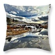Salt River Pass Throw Pillow