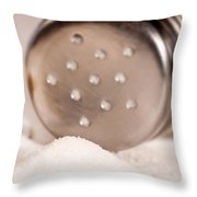 Salt Shaker  Throw Pillow