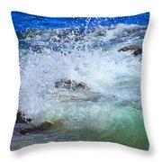 Salt Water Serenade Throw Pillow