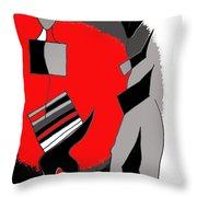 Salute The Slivers Throw Pillow