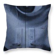 Salvador Dali Doors Graffiti Art Throw Pillow