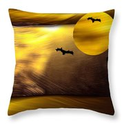 Salvador Dali  In The Desert  Throw Pillow