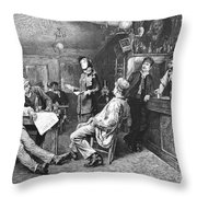 Salvation Army, 1887 Throw Pillow