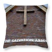Salvation Throw Pillow by Doug Wilton