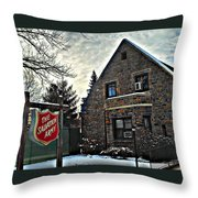 Salvation For The Masses Throw Pillow