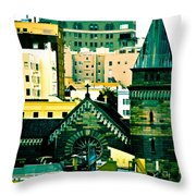 Salvation's Not Lost Throw Pillow