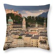 Salzburg After The Storm Throw Pillow