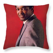 Sam Cooke Throw Pillow