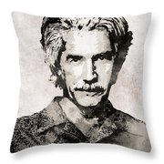 Sam Elliott 3 Throw Pillow