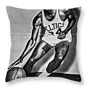 Sam Jones Throw Pillow