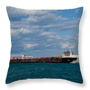Sam Laud Off Belle Isle Throw Pillow