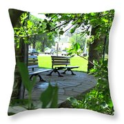 Sam Lawrence Park Hamilton 2 Throw Pillow