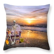 Sam Releases The Starfish Throw Pillow