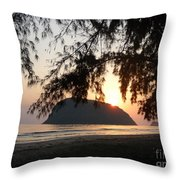 Sam Roi Yod At Dawn Throw Pillow