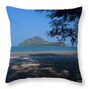 Sam Roi Yod Beach 03 Throw Pillow