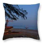 Sam Roi Yod Beach 04 Throw Pillow