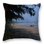Sam Roi Yod Beach Throw Pillow