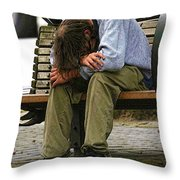 Same As Yesterday Throw Pillow