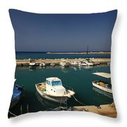 Sami Harbour Kefalonia Throw Pillow