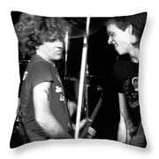 Sammy And Gary Throw Pillow