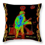 Sammy And Special Guests 1977 Throw Pillow